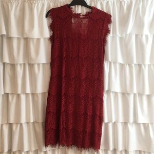 NWT Garnet lace dress from Francesca's